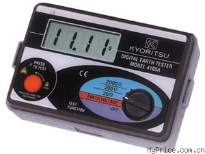 KYORITSU MODEL 4105A(接地电阻测试仪)
