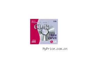 LG CD-R silver-silver 80