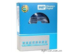 西数 (Western Digital 500GB WD5000AAKX 7200转16M SATAIII 金装硬盘联强货 6Gb/s 3.5寸台式机硬盘