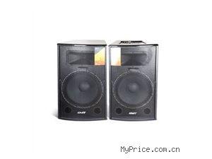 先科 先科新款音响15寸超大功率 户外广场舞有源音响舞台音箱专业对箱